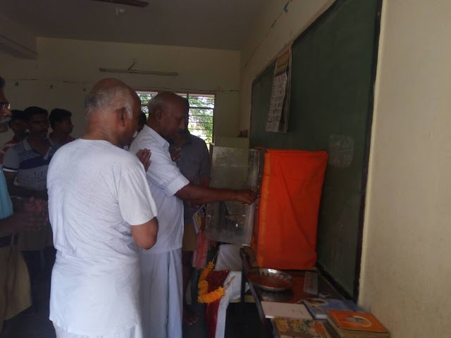 Library for right knowledge at RSS camp, Namakkal