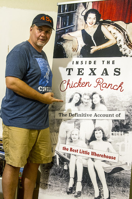Inside the Texas Chicken Ranch vertical banner