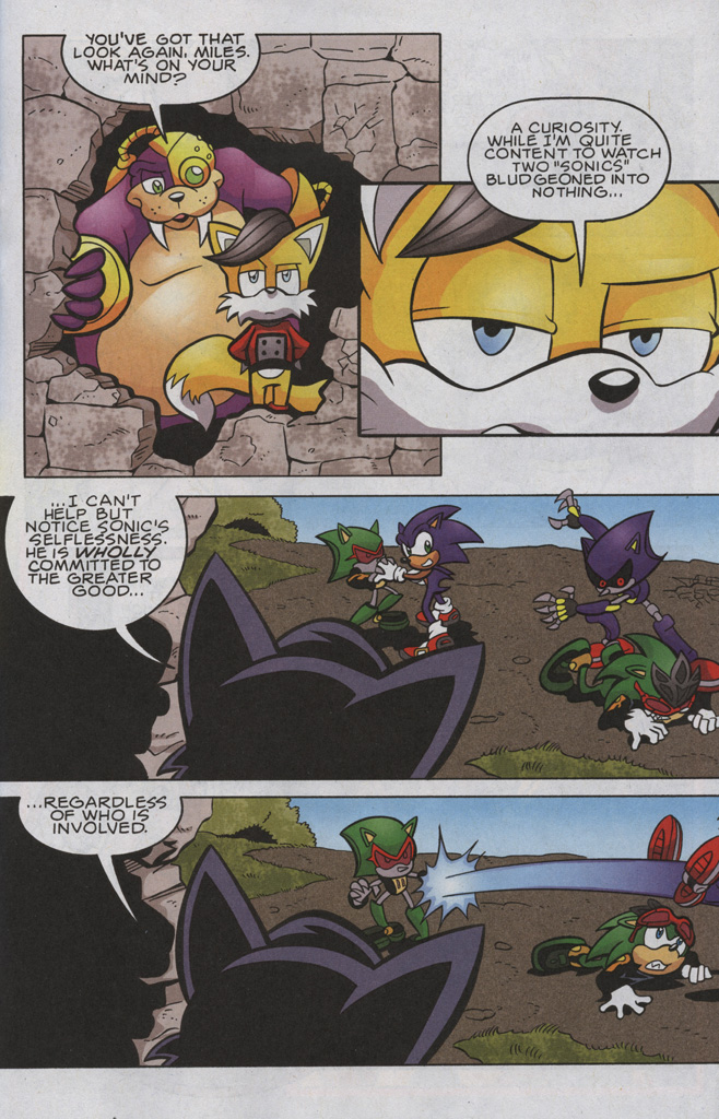Read online Sonic The Hedgehog comic -  Issue #192 - 12
