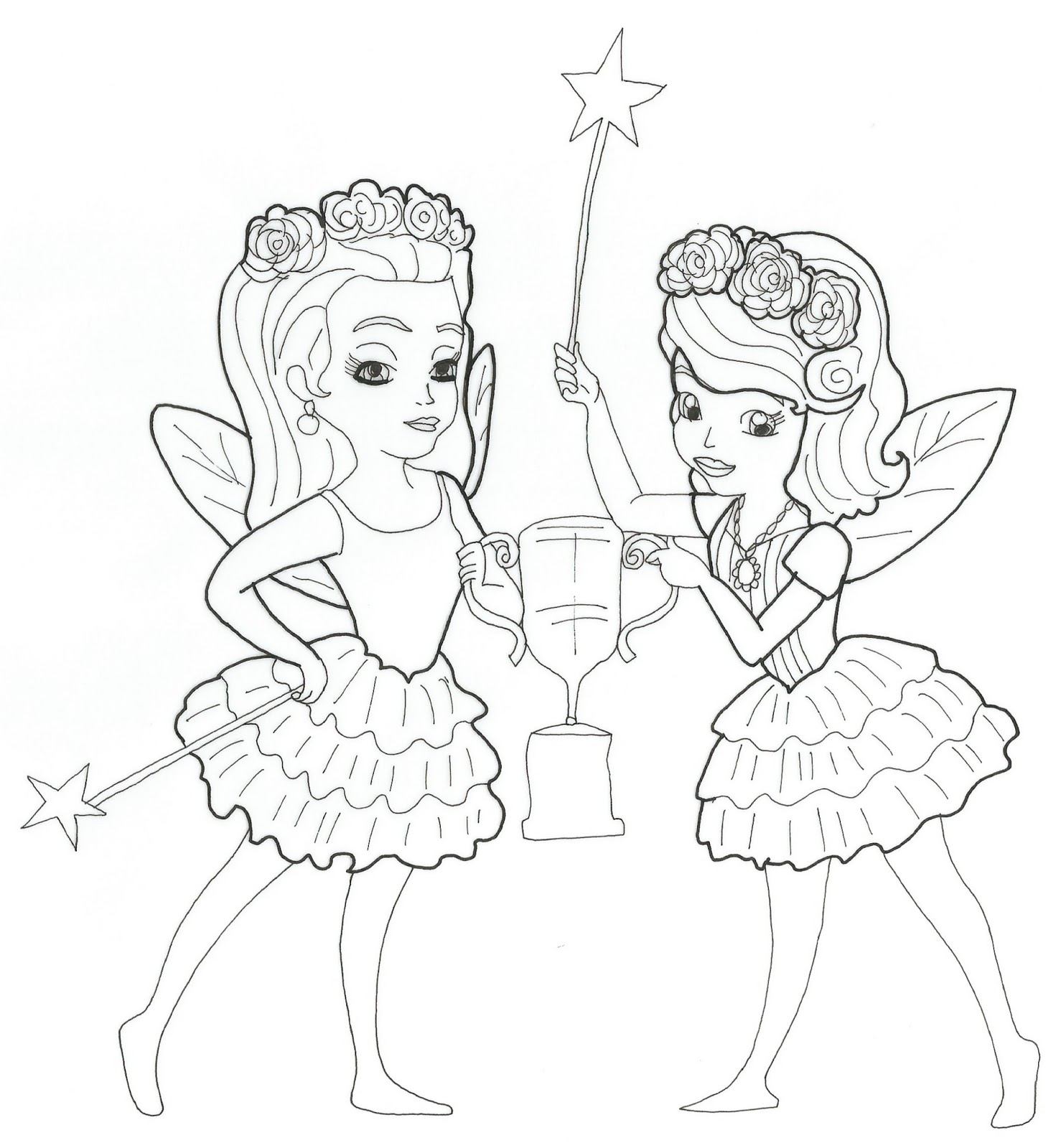 Princess Sofia Coloring Pages Games : Sofia the first coloring pages april