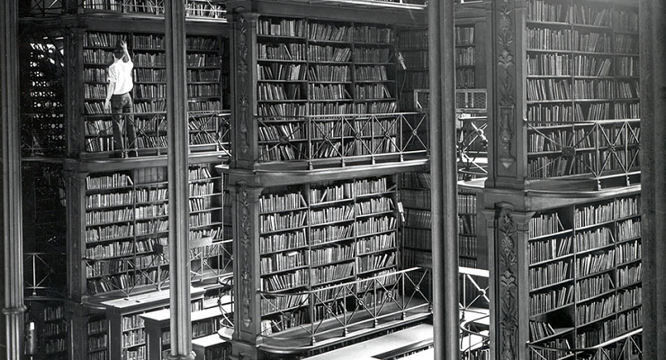 Ohio State Library 19th Century - Mr Penumbra's 24-Hour Bookstore