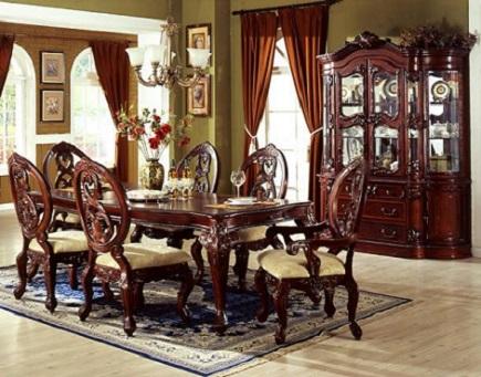 Mi casa con estilo comedores cl sicos elegantes for Comedores finos