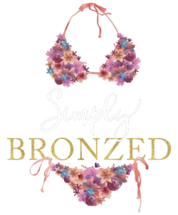 Simply Bronzed Logo - Facebook Link