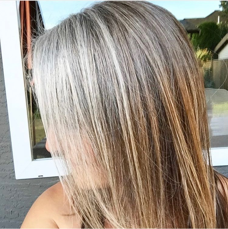 How I Embraced Grey Hair Markova Design