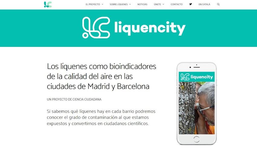 Proyecto LiquenCity: Madrid + Barcelona