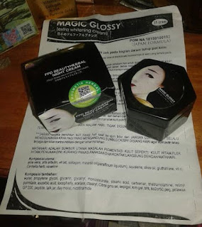 Magic Glossy Cream Extra Whitening