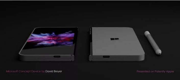 More evidence of the folding phone of Microsoft emerge