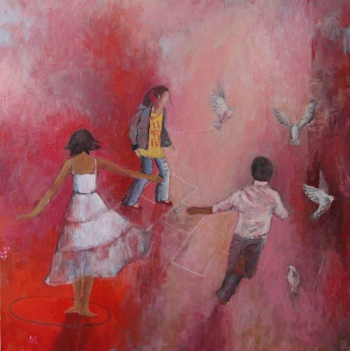 Красочные видения. Justine Formentelli