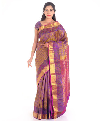 f60af52932 The Chennai Silks- Baluchari Silk Handloom Saree is now for a price of  Rs.5,995 :