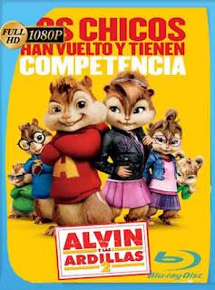 Alvin y Las Ardillas 2  2009 HD [1080p] Latino [Mega] dizonHD