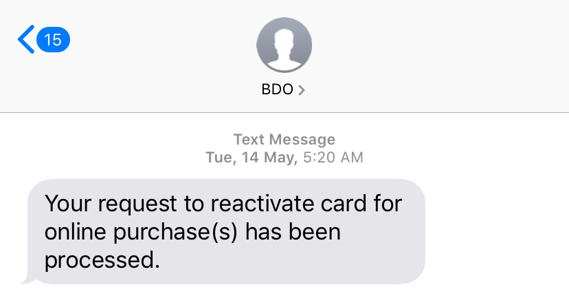Frustrating! Why you can't link your BDO Debit Card in GCash