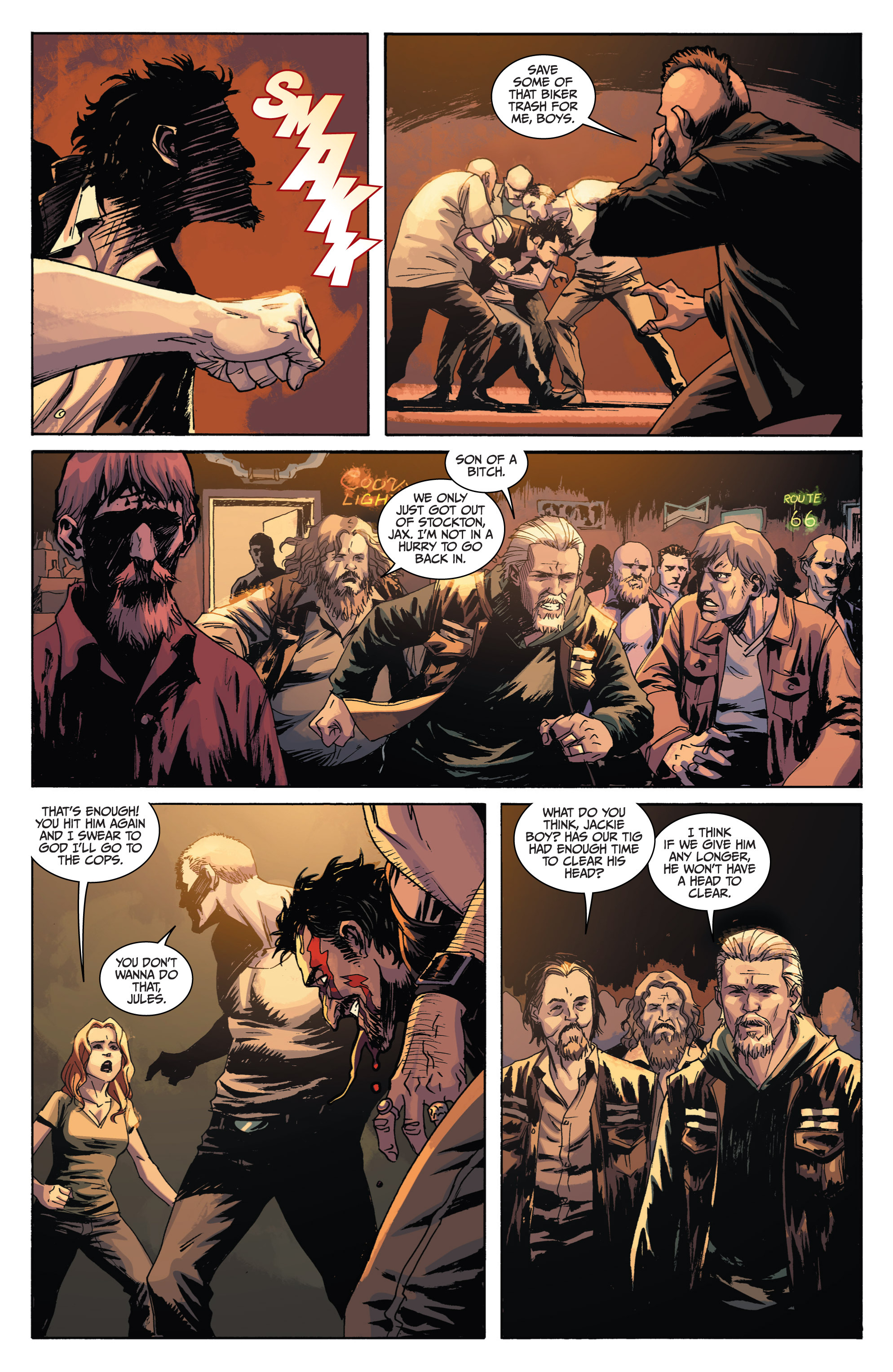 Read online Sons of Anarchy comic -  Issue #1 - 16