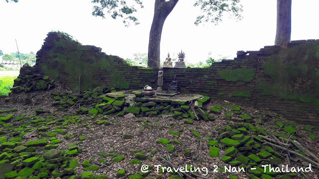 Temple ruin in Pua, Nan - Thailand