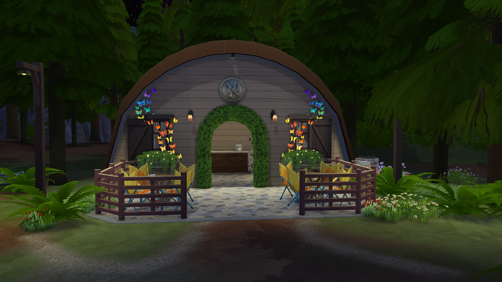 My Sims 4 Blog: Forest Lake Lot by Fatalist