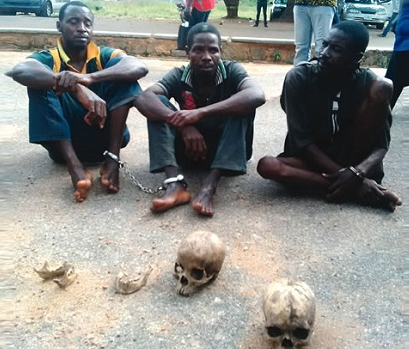 human parts dealers arrested ogbomoso