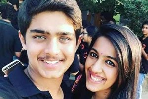 Niharika-With-Roshan-Andhra-Talkies