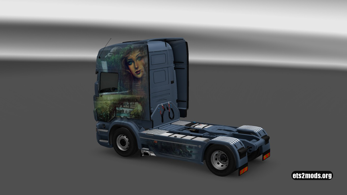 Mystery Skin for Scania RJL