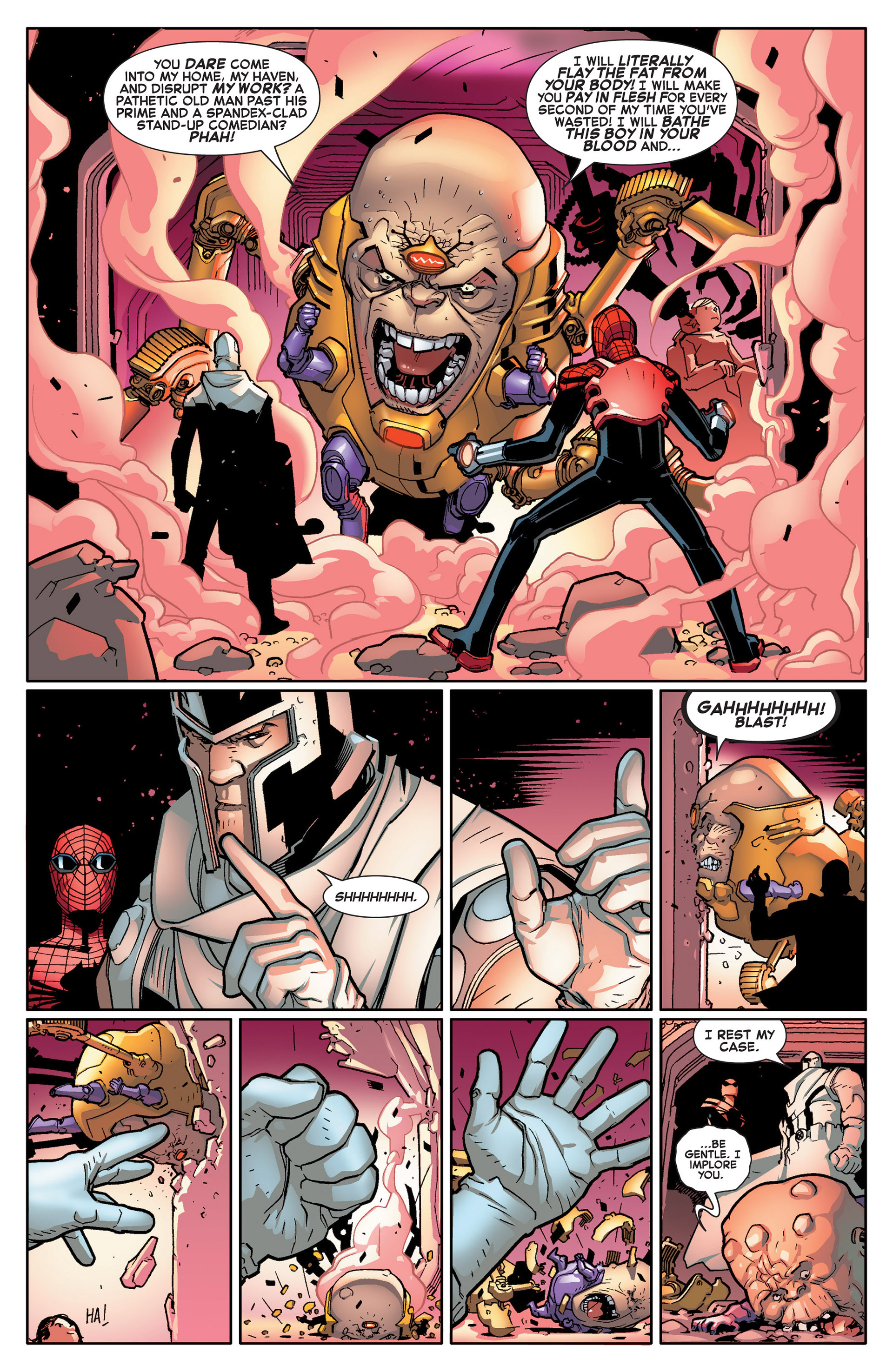 Read online A X comic -  Issue #14 - 10