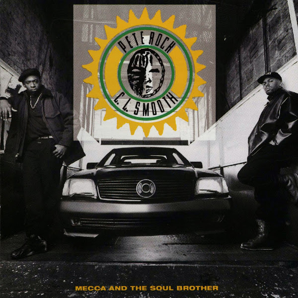 C.L. Smooth & Pete Rock - Mecca And The Soul Brother Cover