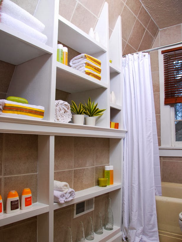 Modern Furniture: 2014 Small Bathrooms Storage Solutions Ideas on Small Apartment Bathroom Storage Ideas  id=25932