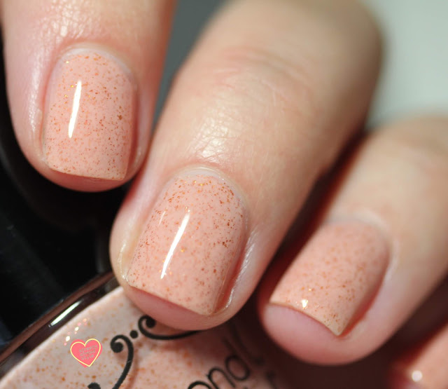 Beyond the Nail Cherry Beach swatch by Streets Ahead Style