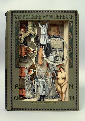 Arte y reciclaje con libros