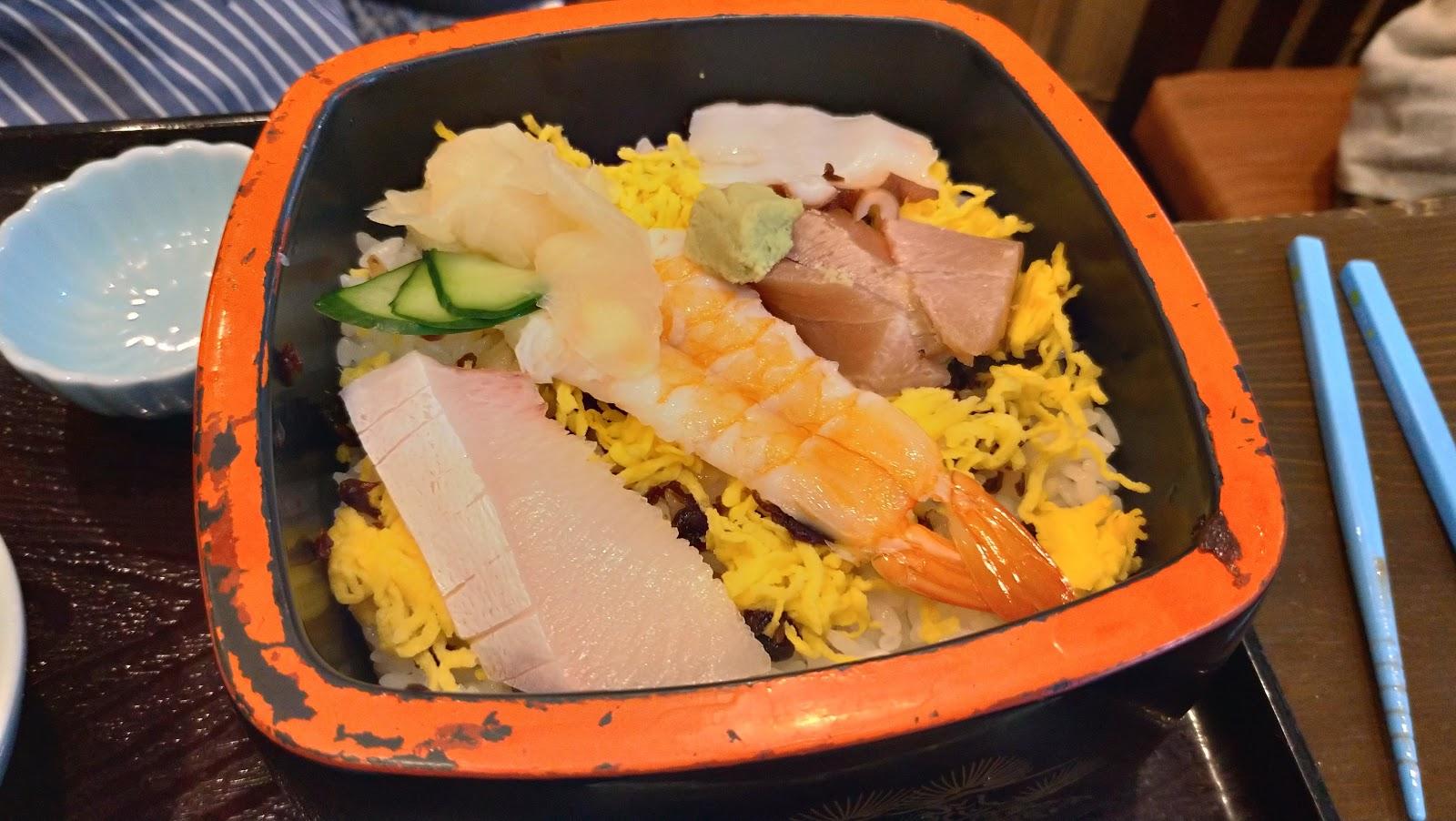 いけ洲居酒屋 むつ五郎 ちらし寿司