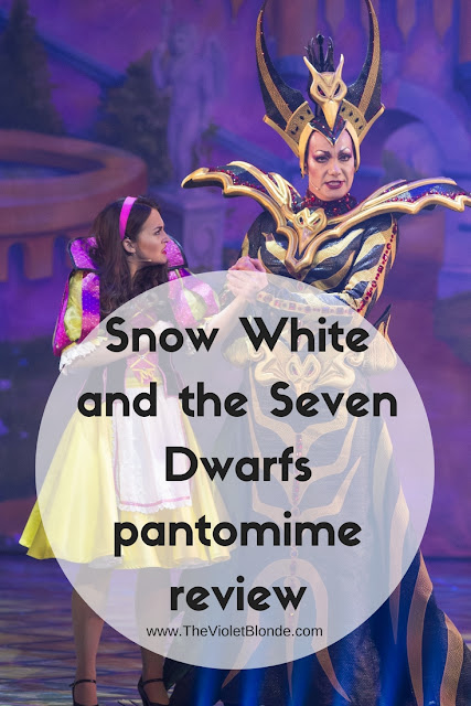 Snow White pantomime Mayflower Theatre review