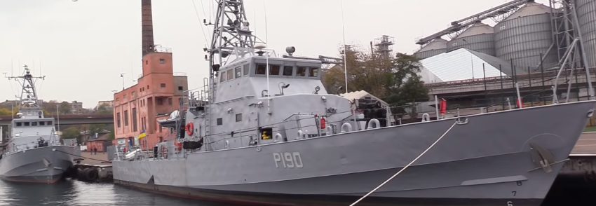 Знайомство з катерами ВМСУ Старобільськ та Слов'янськ