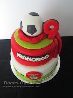bolo futebol benfica