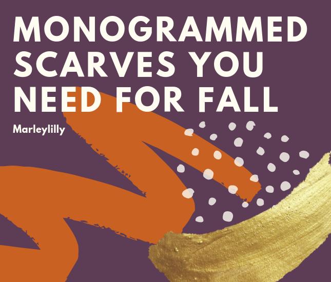monogram scarves guide