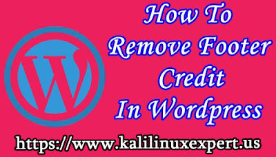 Remove Footer Credit Link From Blogger Template Without Redirecting