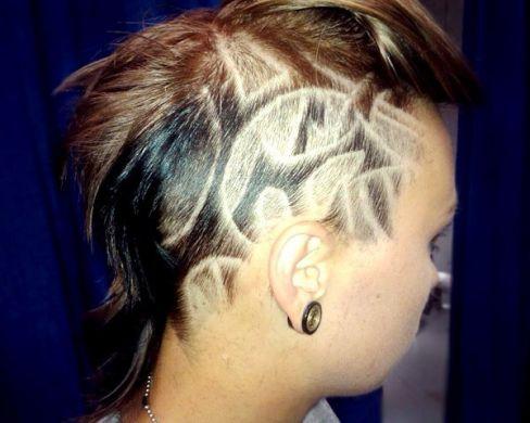 Stileggendo....spunti di vista: Gli hair tattoos