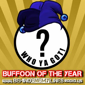 2018 BUFFOON OF THE YEAR - VOTE NOW!