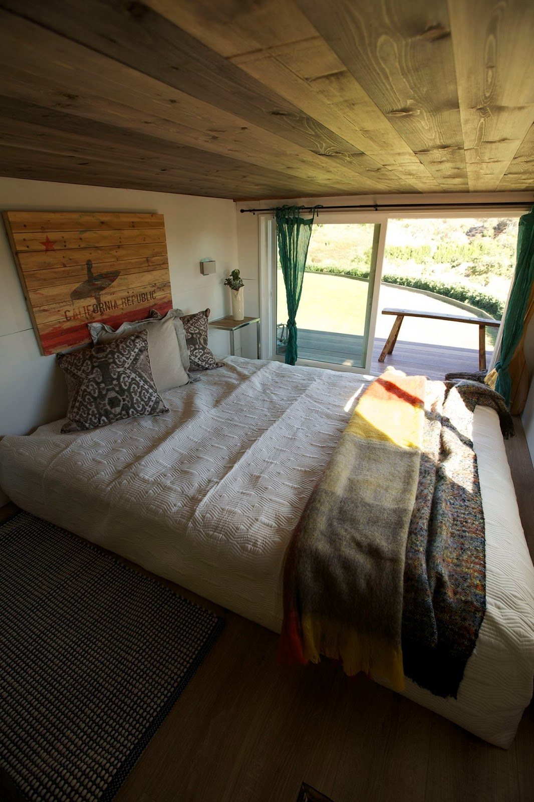 Tiny House Town Socal Surfer House 300 Sq Ft