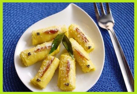 कैसे बनाएं खांडवी बनाने की बिधि - Khandvi Recipe in Hindi