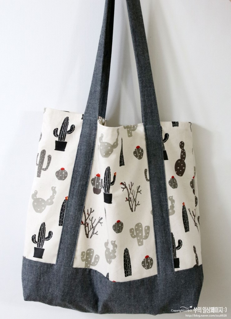 Sew your own unique and eco-friendly shopping bags! Sewing Tutorial