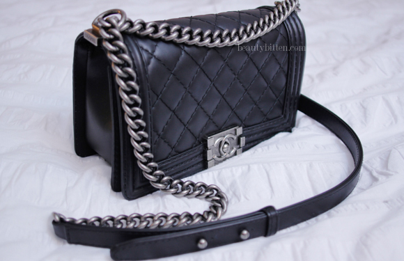 Chanel Quilted Boy Bag