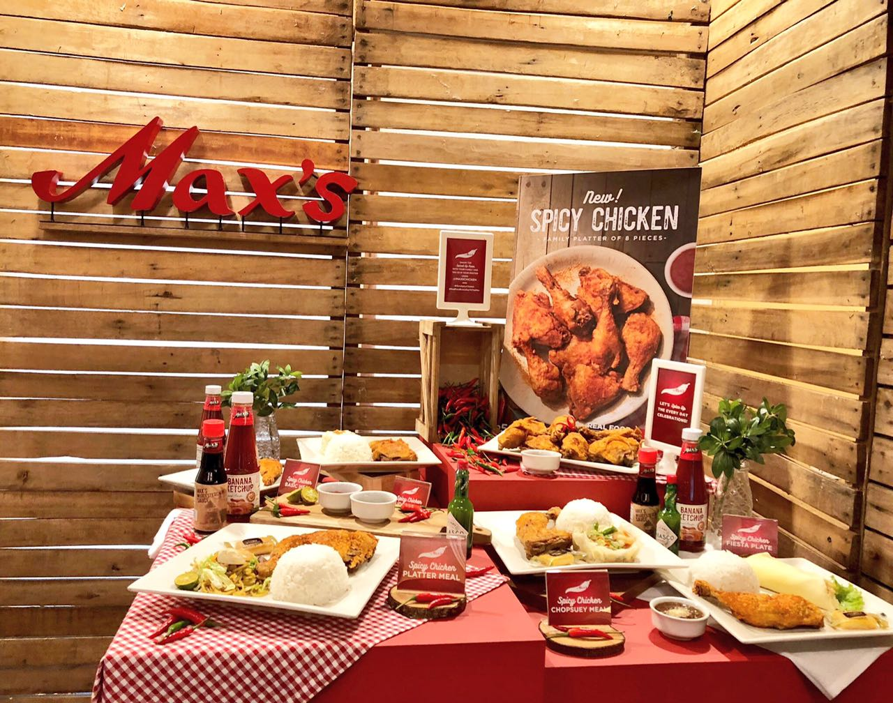 Some Like It Hot: Try the New Max\'s Spicy Chicken