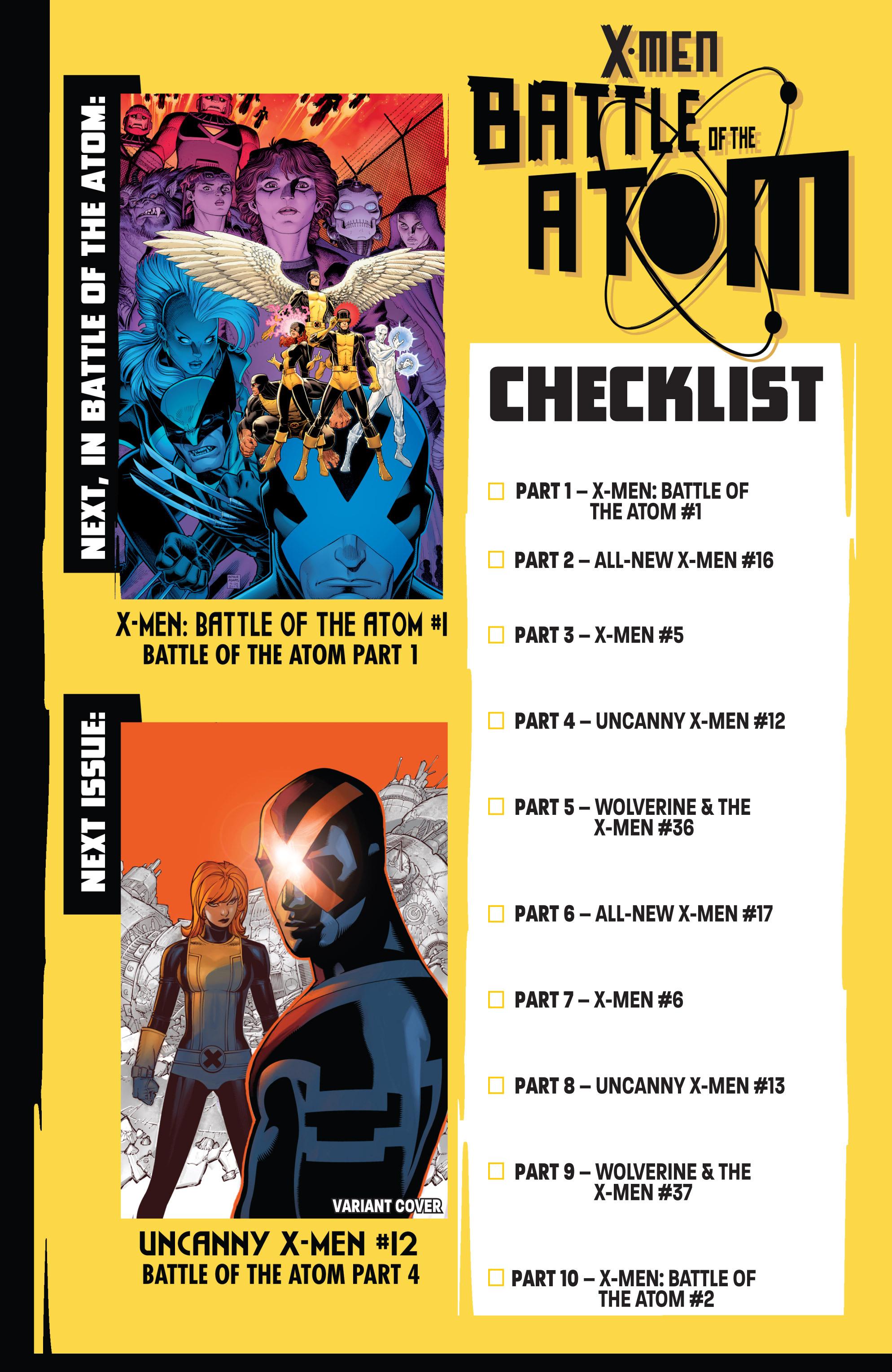 Read online Uncanny X-Men (2013) comic -  Issue # _TPB 2 - Broken - 116
