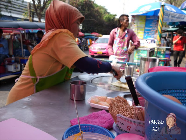 Penjual Banana Pancake