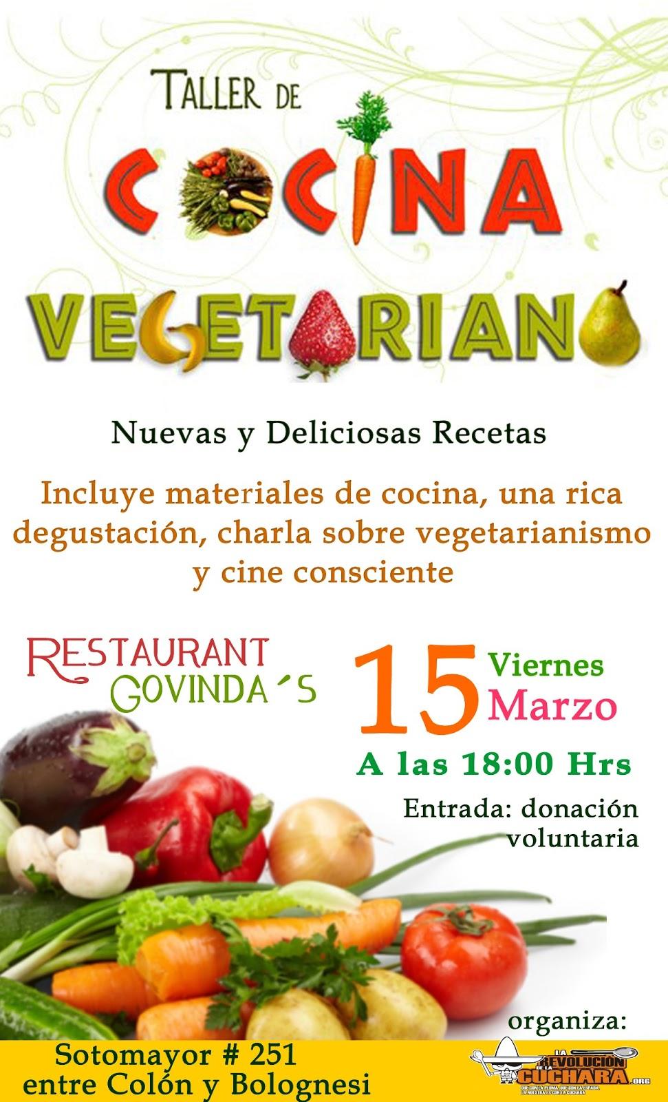 Taller de cocina vegetariana en arica - Escuela de cocina vegetariana ...
