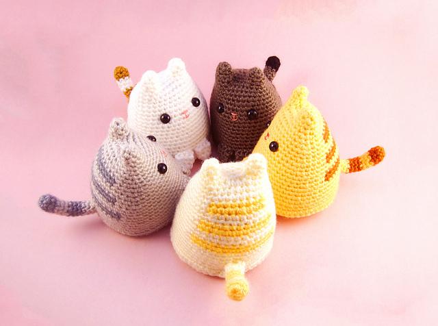 Gato Amigurumi 10 Patrones Gratis - Arte Friki