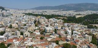 Atenas desde el Acrópolis.