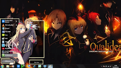 Theme Anime Windows 7 Canaria Utara Qualidea Code 2