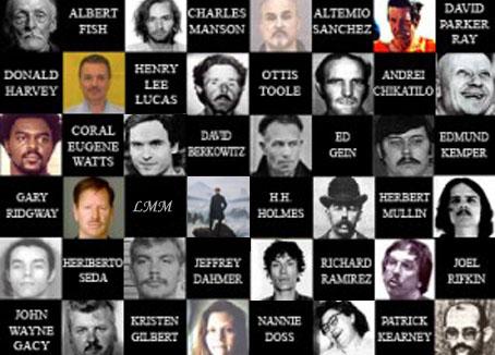 Le Marginal Magnifique chante L'hymne aux serial killers : Ted Bunfy Jeffrey Dahmer Richard Ramirez Andrei Chikatilo Francis Holmes humour noir crimes atroces