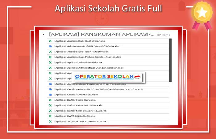 Aplikasi Sekolah Gratis Full