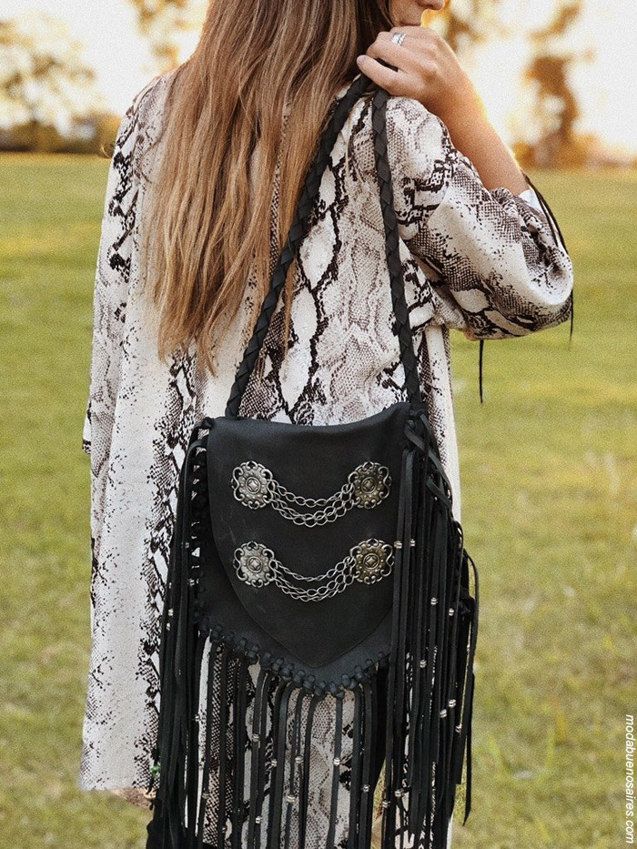 Moda handmade carteras 100% cuero argentino. Moda argentina diseño handmade invierno 2019.