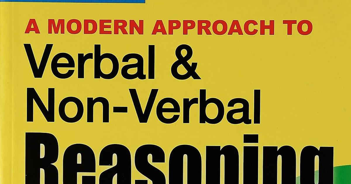 Verbal & Non-Verbal Reasoning by RS Aggarwal free PDF
