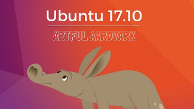 Free Download Ubuntu 17.10 Artful Aardvark Final Rilis Terbaru